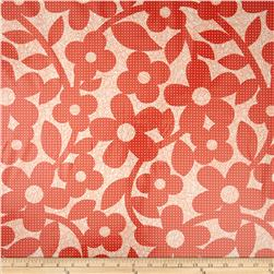 Erin Mcmorris Weekends Laminate Dots And Loops Red