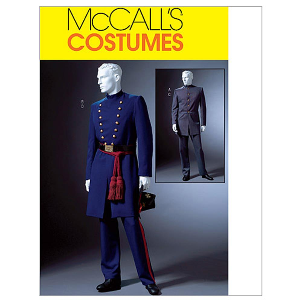 McCall's Men's Civil War Costumes Pattern M4745 Size XM0