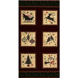 Ornamental Splendor Metallic Ornamental Splendor 24 In. Panel Multi