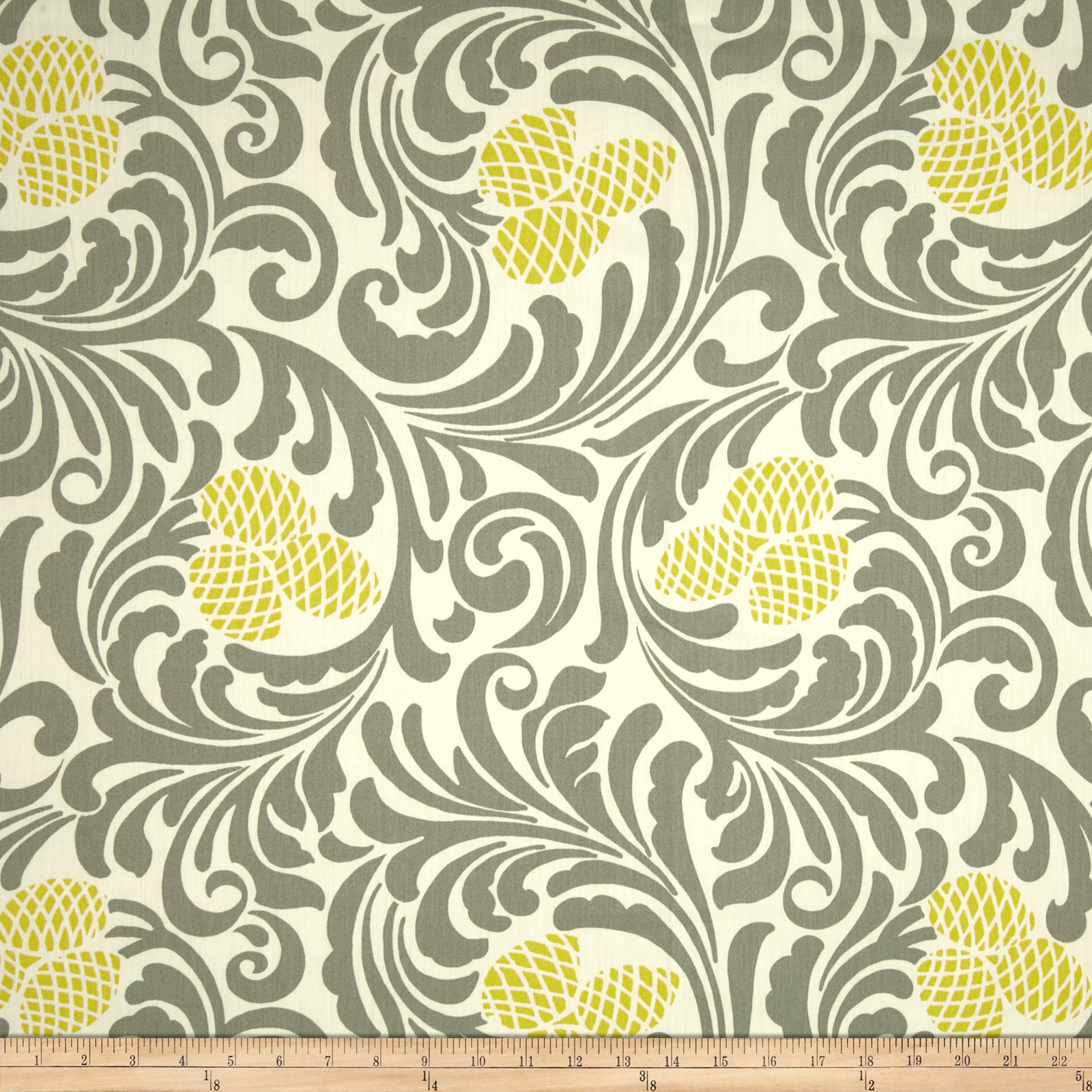 Waverly Empress Chintz Lemongrass Fabric