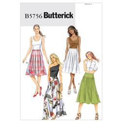 Butterick Misses' Skirt Pattern B5756 Size B50