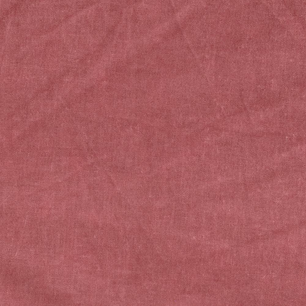New Aged Muslin Burnt Red