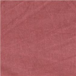 New Aged Muslin Burnt Red Fabric