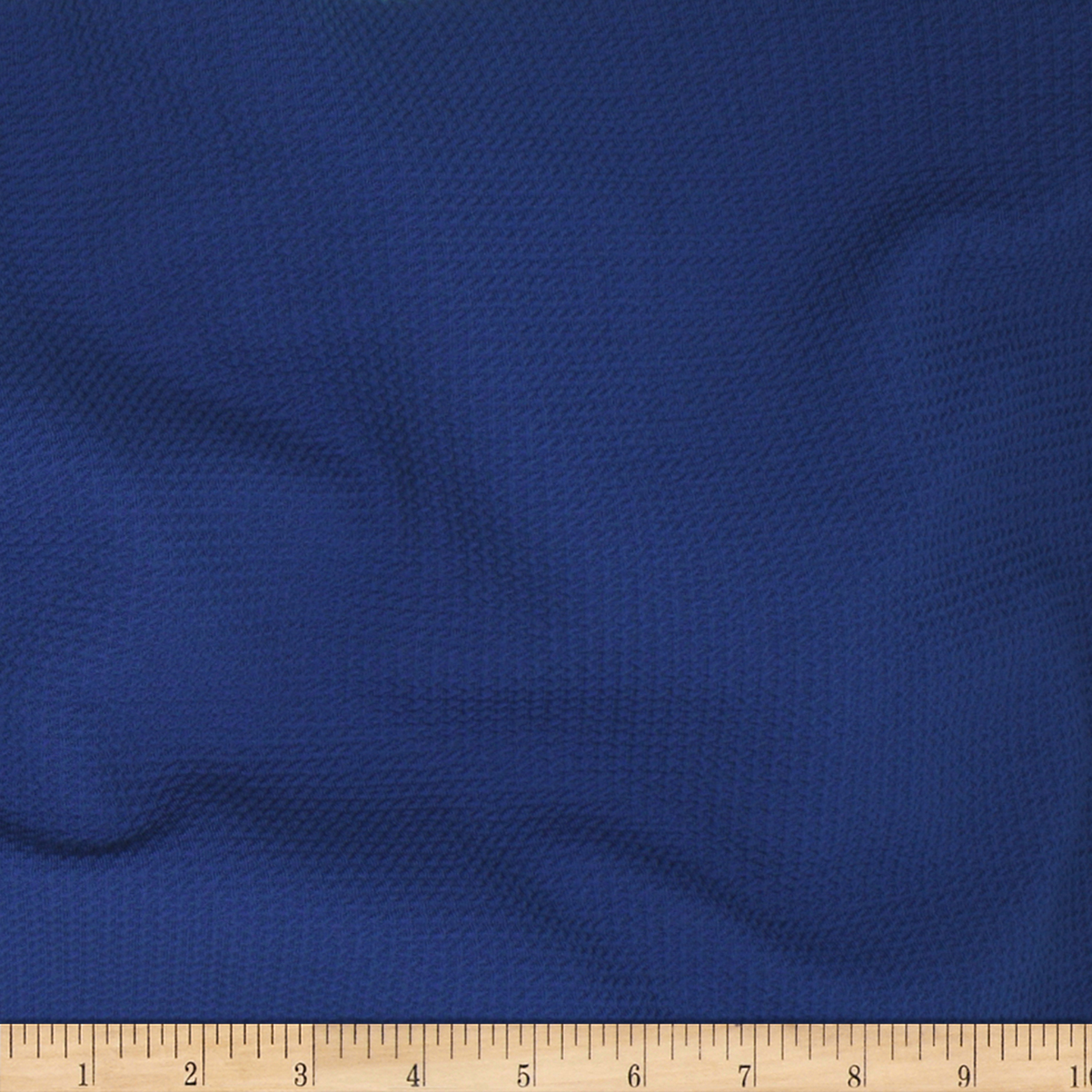 Paola Pique Knit Blue Fabric