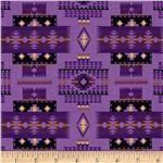 Tucson Blanket Purple