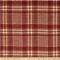 Primo Plaids Flannel Christmas II Plaid Red/Cream