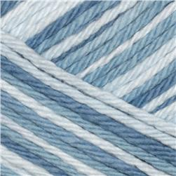 Lion Brand Lion Cotton Yarn (210) Denim Swirl