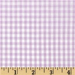 Gingham 1/8'' Checks Galore Lilac