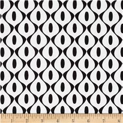 Riley Blake Mod Studio Wallpaper White