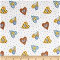 Holly Hobbie Flannel Hearts