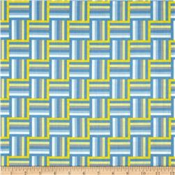 Wishing Well Ladder Stripe Blue