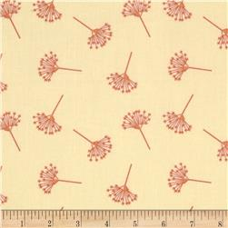 Moda Little Things Organic Queen Anne's Lace Cream