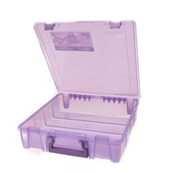 "ArtBin Super Satchel Single Compartment-15.25"" x 14"" x 3.5""  Purple"