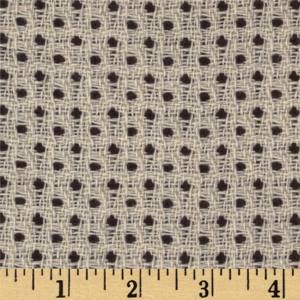 Boucle Coating Dot Chocolate/Cream