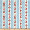 Simply Chic Flora Eye Ribbon Sky Blue
