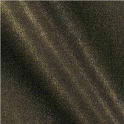 Shimmer Stretch Poplin Black/Gold