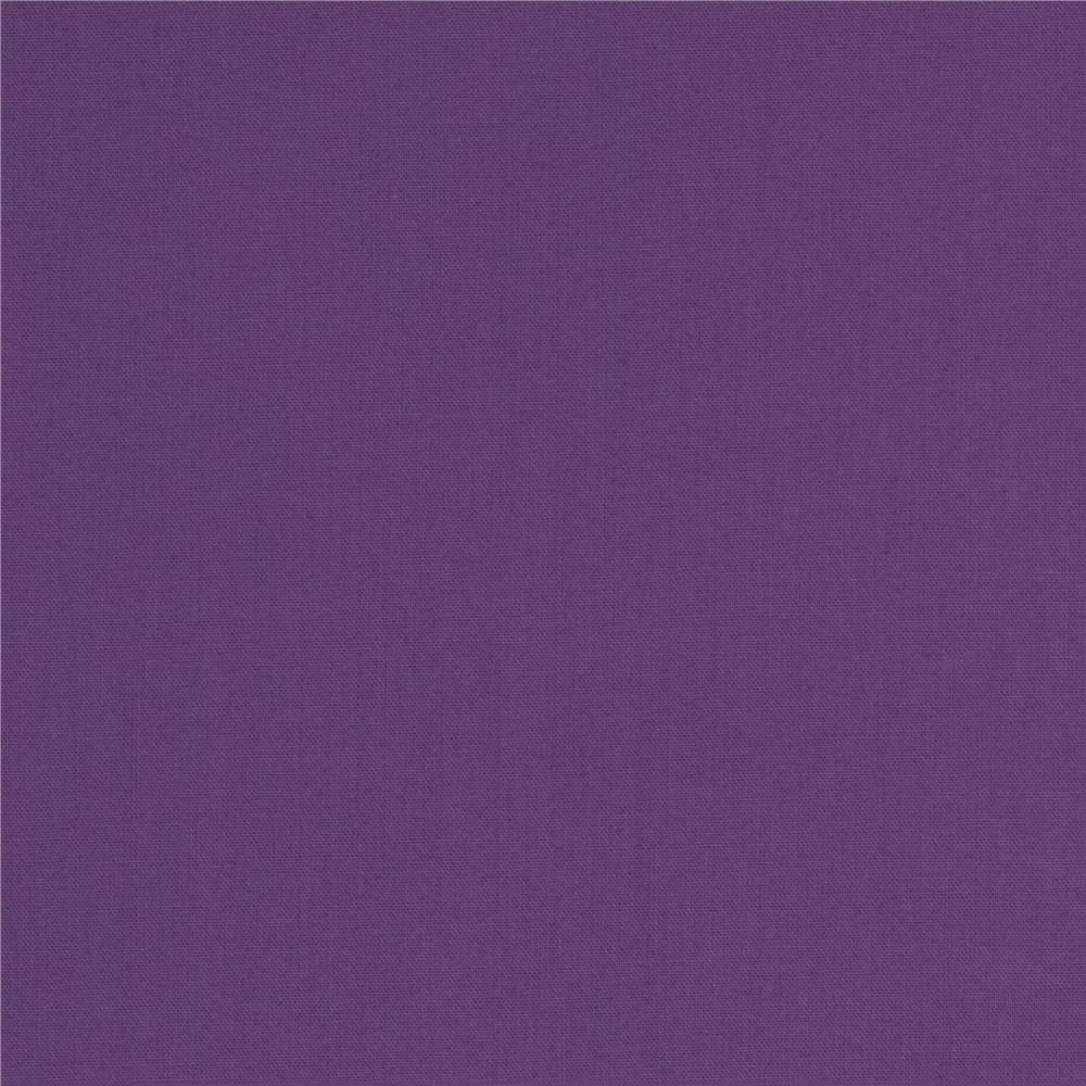 Everyday organic solid purple discount designer fabric for Fabric cloth material