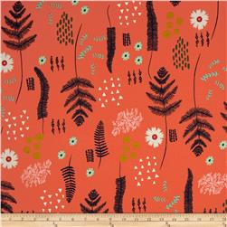 Cotton & Steel Mesa Fern Book Coral
