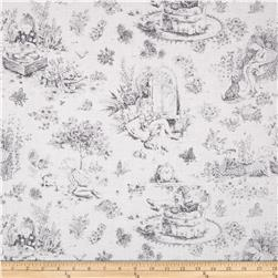 "Precious Beginnings 60"" Pretty Toile Grey"
