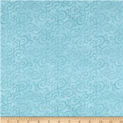Flannel Scroll Seafoam