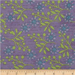 Bohemian Chic Floral Purple