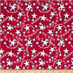 Liberty Multi Stars Red