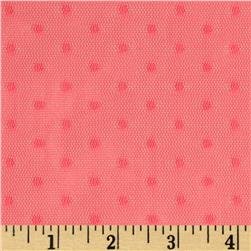 Jacquard Mini Dot Lace Melon