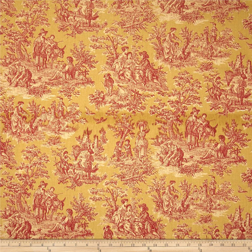 Waverly Charmed Life Toile Gold