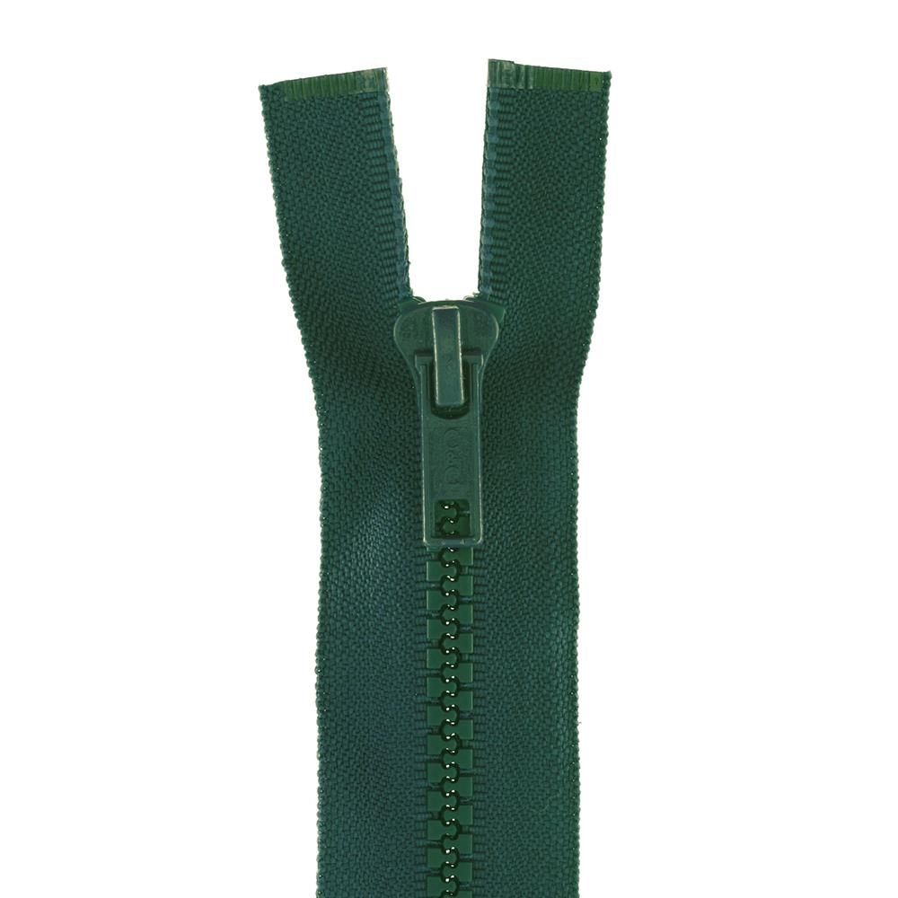 "Coats & Clark Sport Separating Zipper 30"" Forest Green"