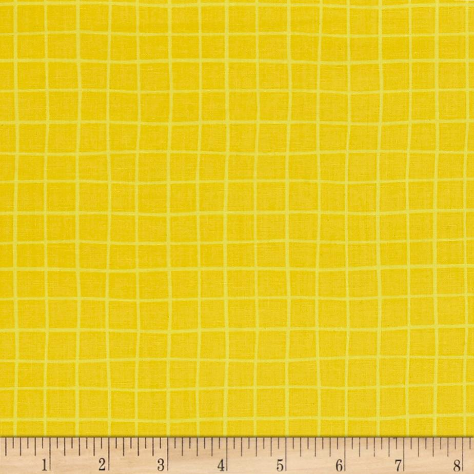We Share One World Grid Yellow