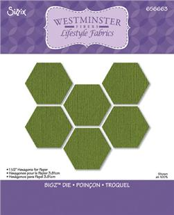 Sizzix Bigz Die 1 1/2'' Hexagons