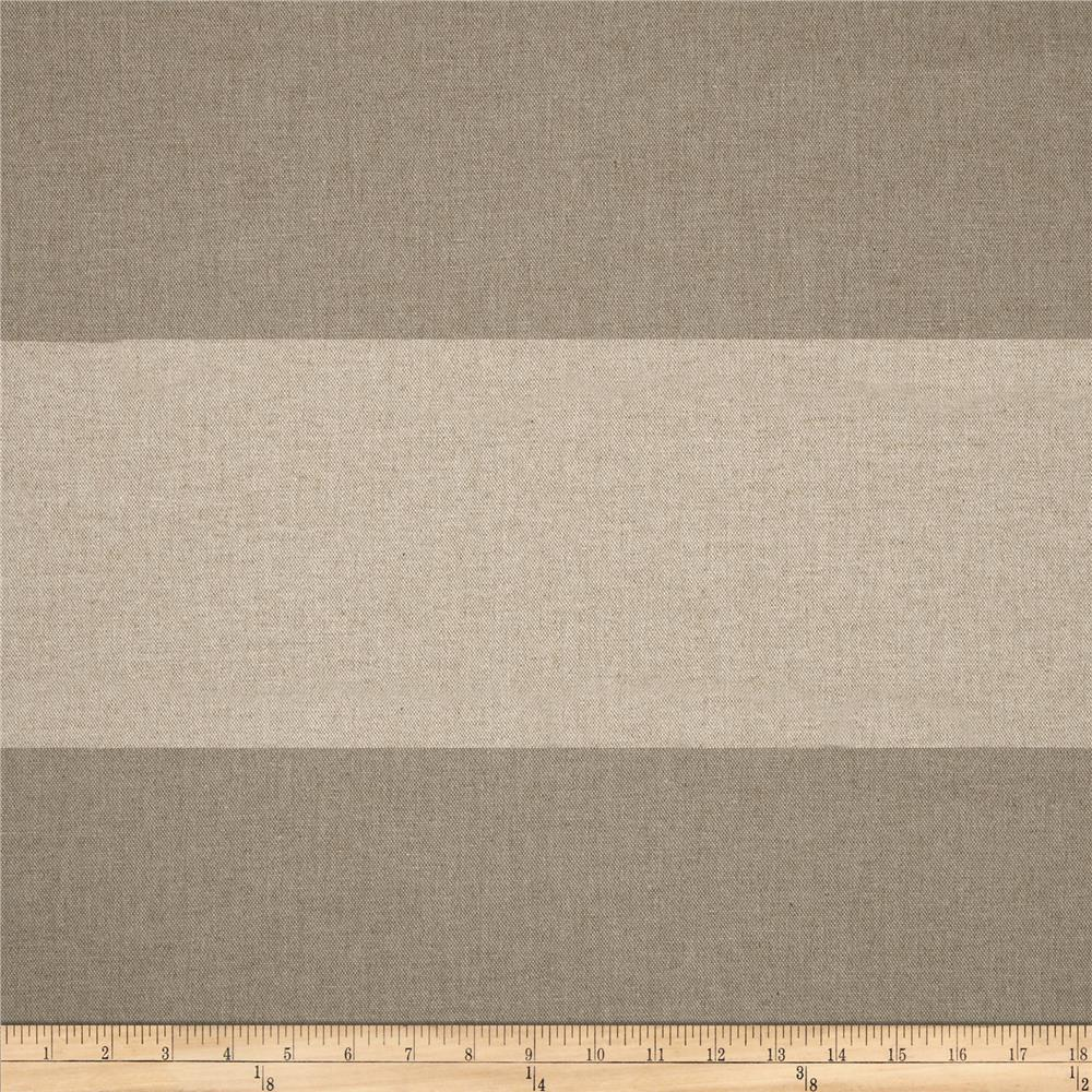 Premier Prints Linen Cabana French Grey Fabric By The Yard