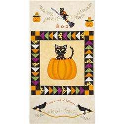 Not So Spooky Halloween 24 In. Panel Multi
