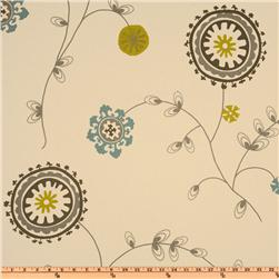 Premier Prints Emma Summerland/Natural Fabric