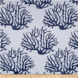 RCA Blackout Drapery Fabric Coral Navy