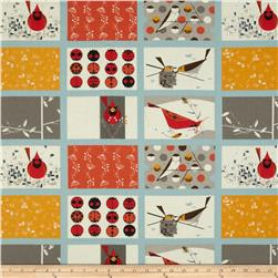 Birch Organic Charley Harper Cardinal Patch Multi