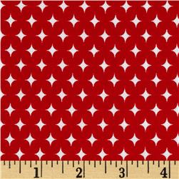 Riley Blake Summer Celebration Summer Stars Red