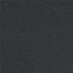 Organic Cotton French Terry Knit Charcoal