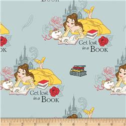 Disney Beauty and the Beast Lost in a Book Dusty Blue