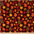 Penny Rose Autumn Hue Leaves Maroon