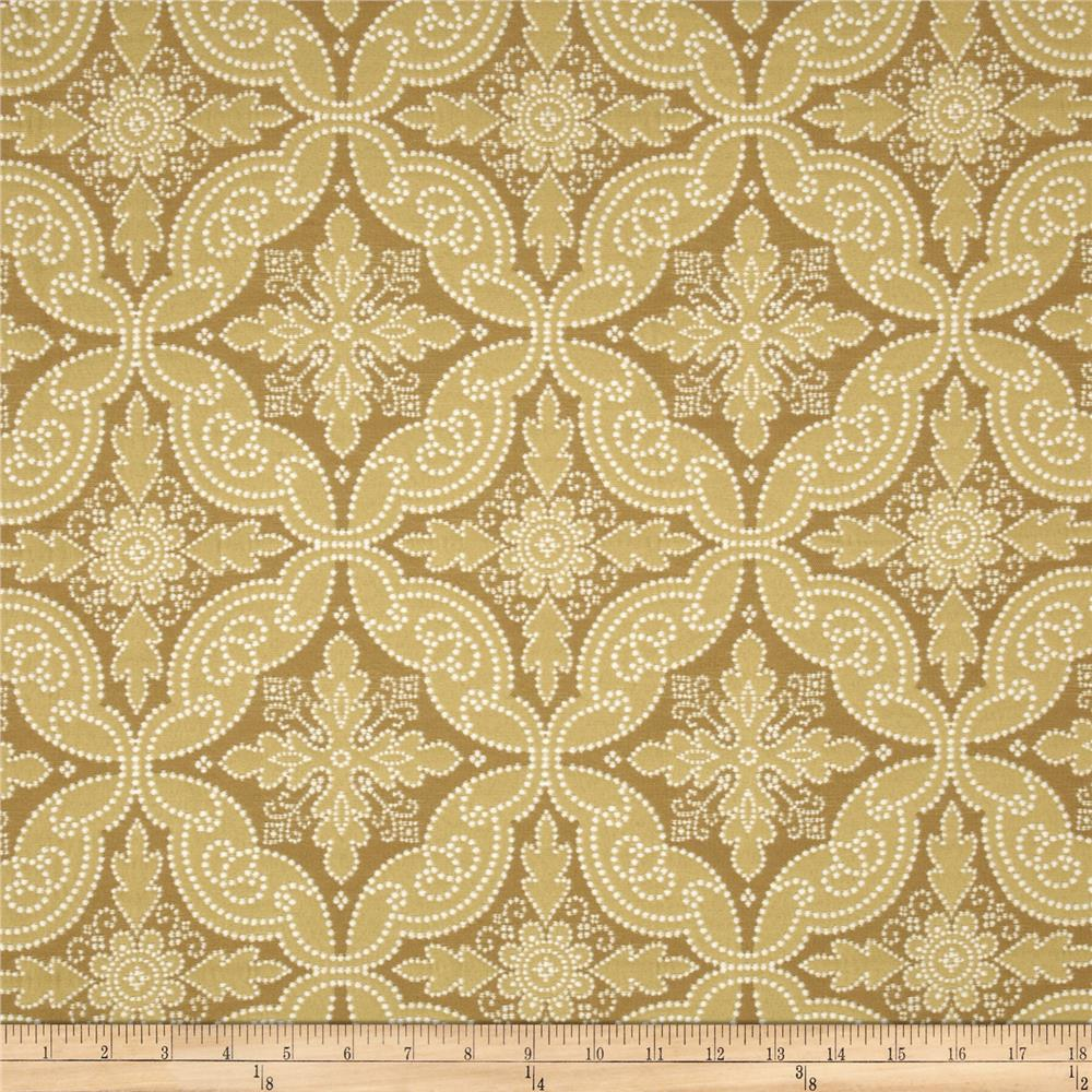 Waverly Williamsburg Pintado Jacquard Wheat
