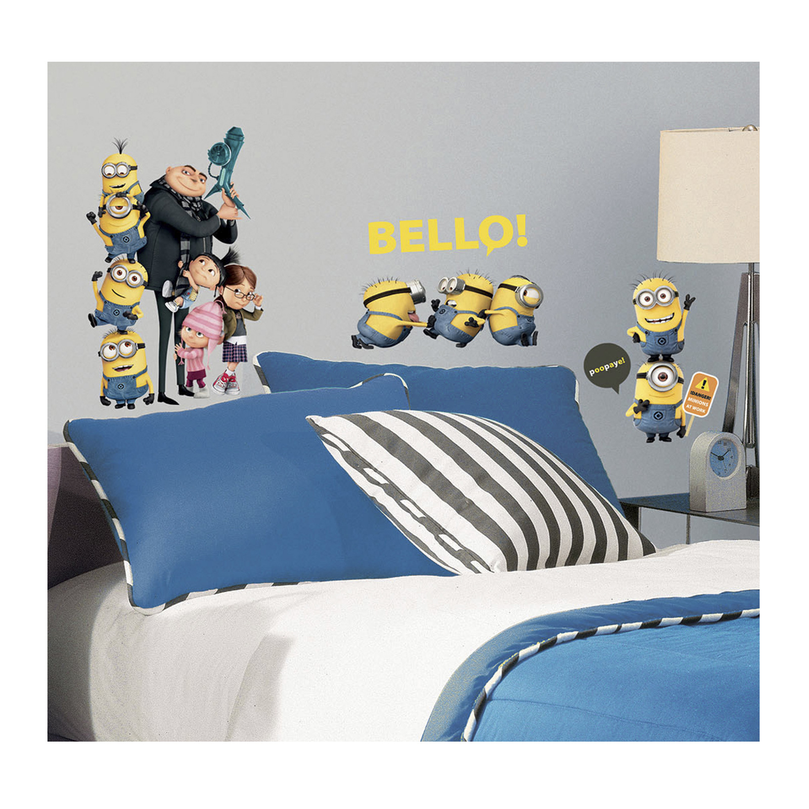 Image of Despicable Me 2 Wall Wall Decals