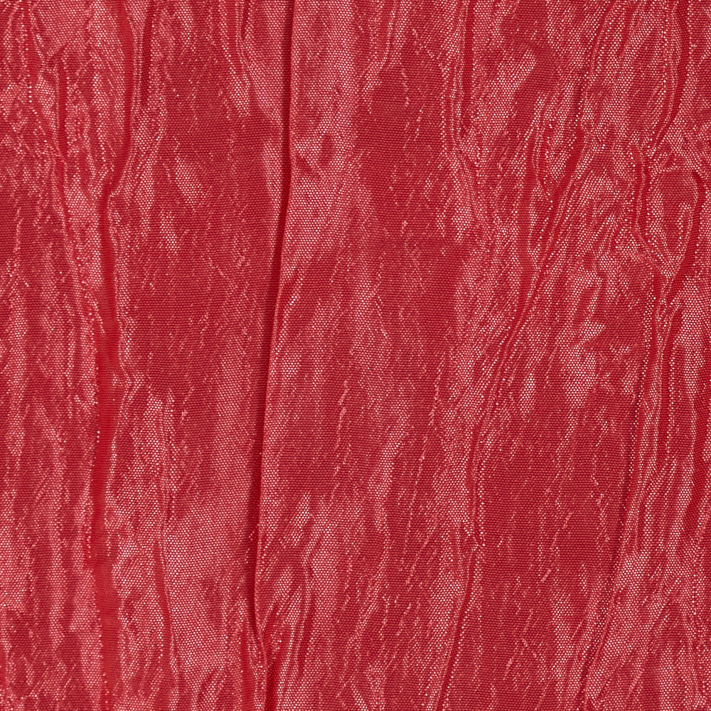 Crushed Taffeta Iridescent Light Coral Pink Fabric