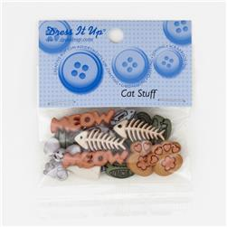 Dress It Up Embellishment Buttons  Cat Stuff