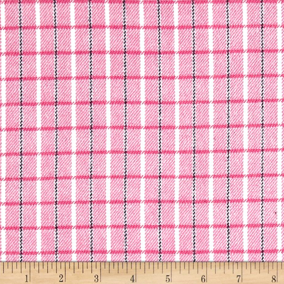 marcus primo plaids color crush flannel small plaid pink. Black Bedroom Furniture Sets. Home Design Ideas