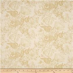 Edith Medium Floral Tan