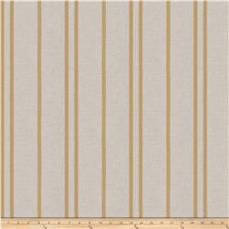 Trend 03649 Linen Blend Satin Stripe Gold