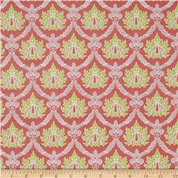 Stonewall Bloom Damask Coral