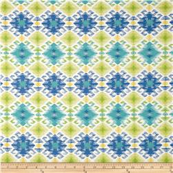 Swavelle/Mill Creek Indoor/Outdoor Stefan Lagoon Fabric