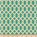 Waverly Sun N Shade Ellis Knot Poolside Aqua